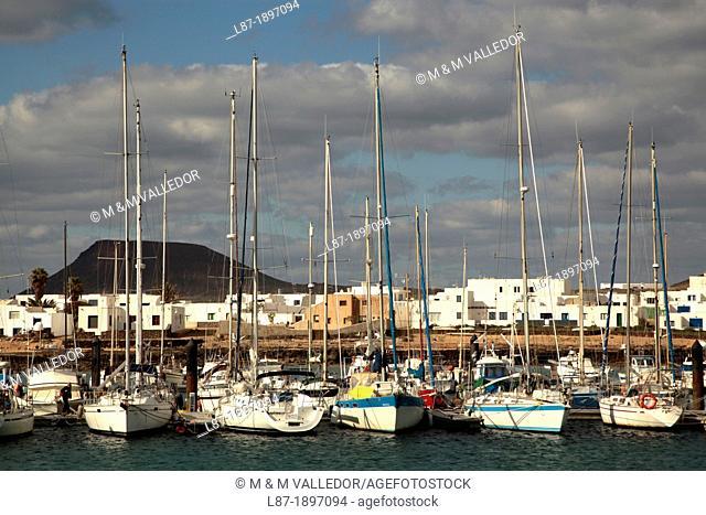 La Graciosa Island, Canary Islands, Spain