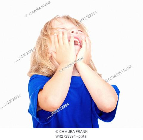 background, boy, Caucasian, cheerful, child, childhood, cute, face, fun, happiness, happy, human, isolated, joy, kid, laugh, laughing, laughter, little, one