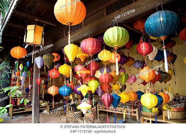 Traditional lanterns, Hoi An, Vietnam