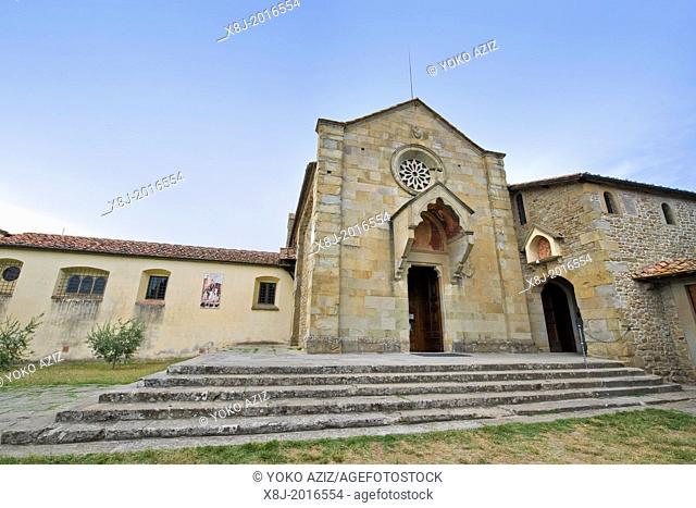 Italy, Tuscany, Fiesole, San Francesco church