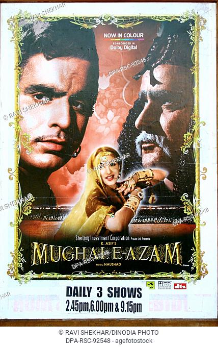 Bollywood ' Mugal-E-Azam ' , Bombay Mumbai , Maharashtra , India