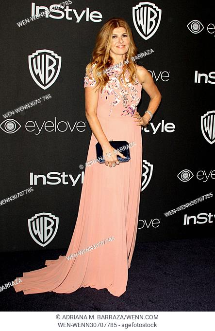 InStyle & Warner Bros. Pictures Golden Globe After Party 2017 held at the Beverly Hilton Hotel - Arrivals Featuring: Connie Britton Where: Los Angeles