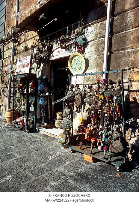 sicilian puppets, catania