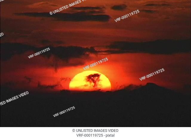 Timelapse sun set 1