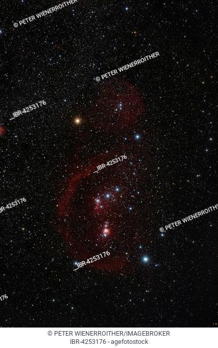Orion constellation, Heiligenkreuz, Lower Austria, Austria