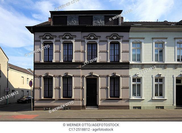 Germany, Viersen, Niers, Lower Rhine, Rhineland, North Rhine-Westphalia, NRW, Viersen-Suechteln, residential house Toenisvorster Strasse 46