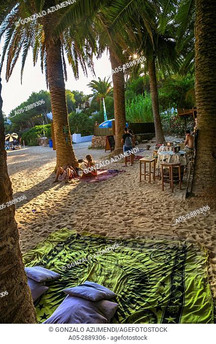 Cala en Blanes Beach. Ciutadella de Menorca Municipality. Minorca. Balearic Islands. Spain