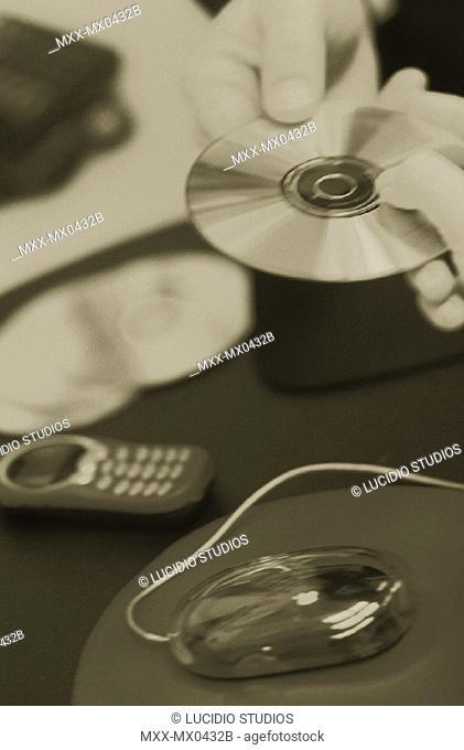 Passing CD ROM