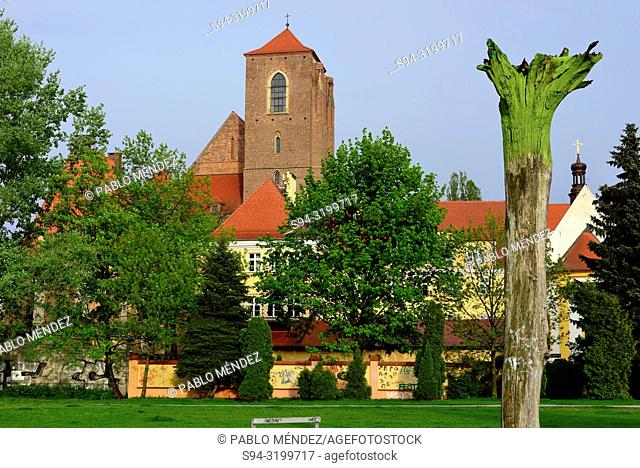 Church of Our Lady of the Sand in Wroclaw, Silesia, Poland