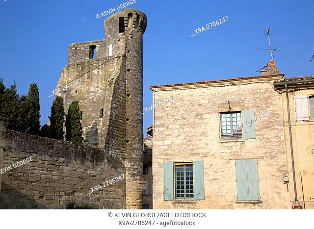 Fort and Castle, Duchy of Uzes, Provence, France, Europe