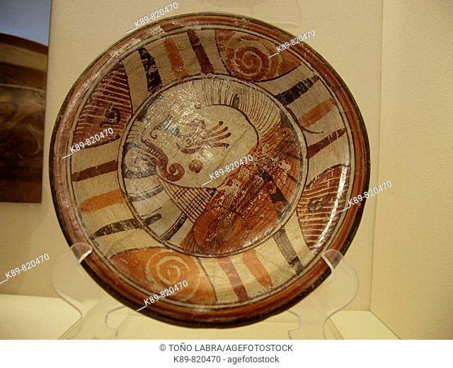 Plate. Museo del Sitio. Cholula, México