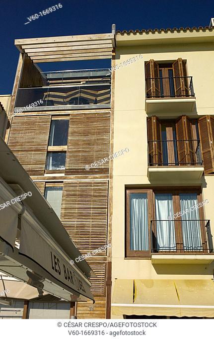 -Facane Building Harbor Cambrils- Tarragona, Catalonia Spain