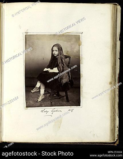 "Untitled (Lady Godiva) - 1857 - Artist unknown English - Artist: Unknown, Origin: England, Date: 1857, Medium: Albumen print, from the """"Untitled Album"""""