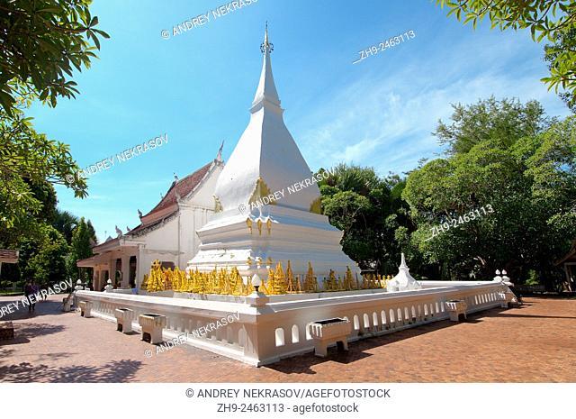 Stupa in Phra That Si Song Rak in Amphoe Dan Sai, Loei province, Thailand