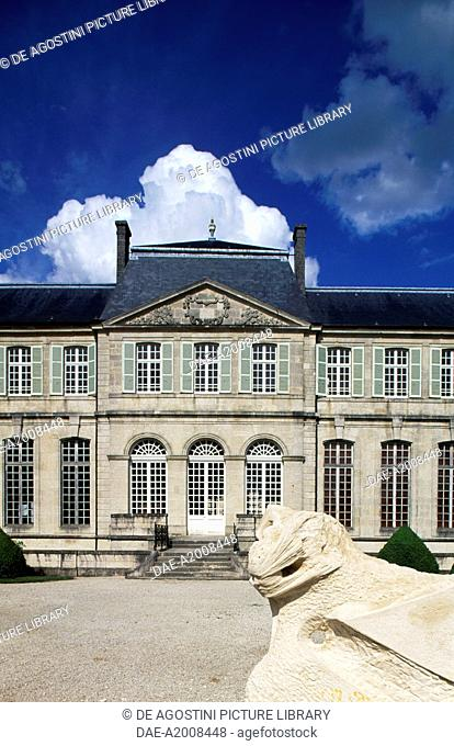 Facade of the Episcopal Palace, 1725, now Centre Mondial de la Paix des Libertes et des Droits de l'Homme (Peace World Center of Freedom and Human Rights)