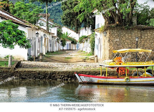 Paraty streets, Rio de Janeiro state, Brazil