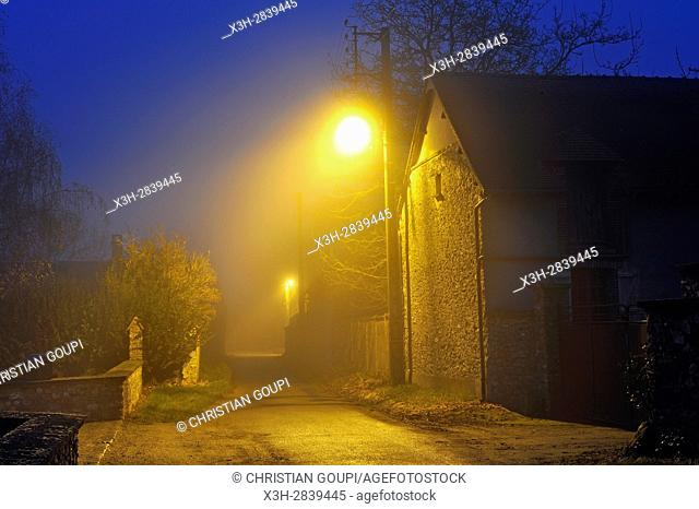 hamlet of the commune of Senantes, Eure-et-Loir department, Centre-Val-de-Loire region, France, Europe
