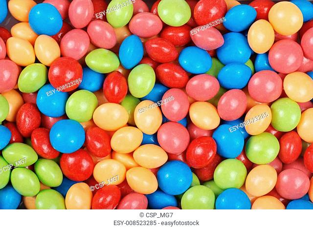 Colorfull fruit candy background