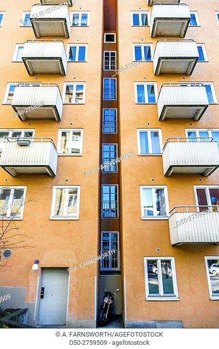 STOCKHOLM, SWEDEN Tidy parking spot