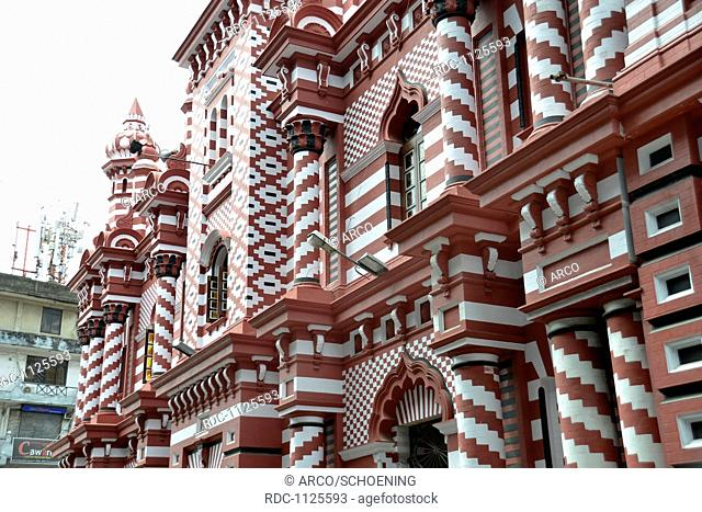 Jami Ul-Alfar Moschee, Pettah, Colombo, Sri Lanka