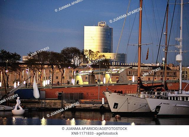 Sunset Marina Barcelona