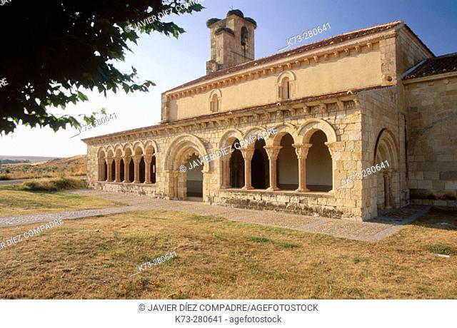 Romanesque chapel of Nuestra Señora de la Asunción (12th-13th Centuries). Duraton. Segovia province. Castilla y Leon. Spain