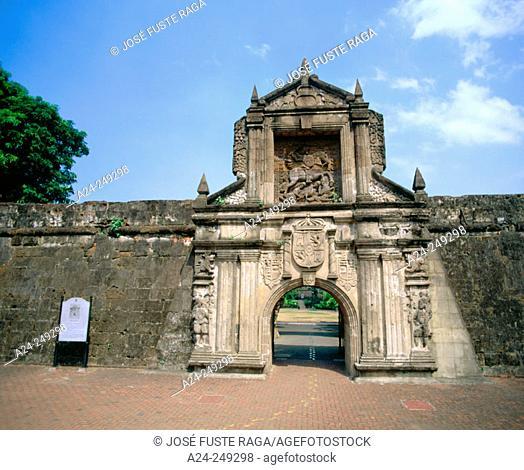 Fort Santiago. Intramuros. Manila. Philippines