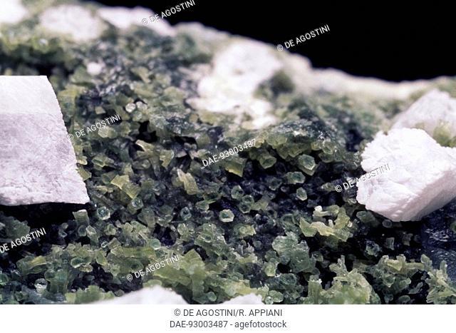 Serpentine, silicate