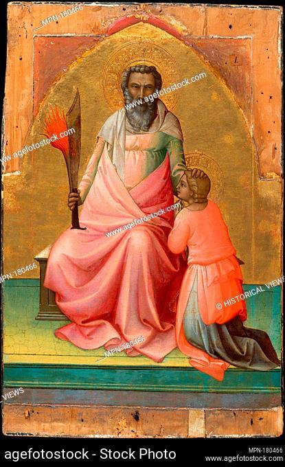 Abraham. Artist: Lorenzo Monaco (Piero di Giovanni) (Italian, Florence (?) ca. 1370-1425 Florence (?)); Date: ca. 1408-10; Medium: Tempera on wood