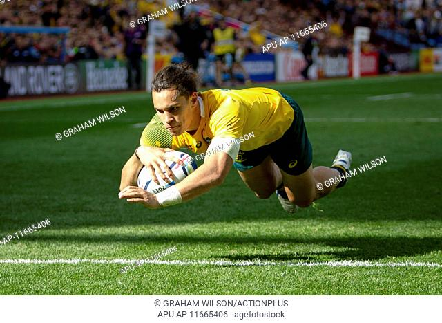 2015 Rugby World Cup Australia v Uruguay Sep 27th. 27.09.2015. Birmingham, England. Rugby World Cup. Australia versus Uruguay