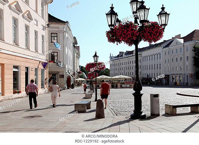 Tartu, ehemalige Hansestadt, Estland, Baltikum, Europa