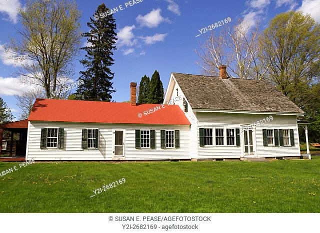 A private home in Old Deerfield, Massachusetts, United States, North America. Editorial use only