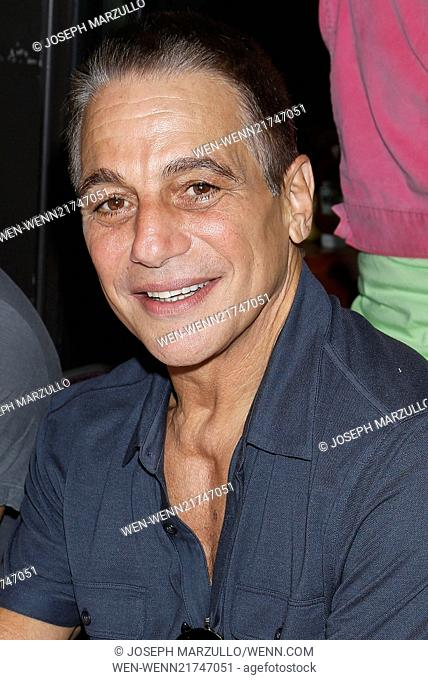 2014 Broadway Flea Market to benefit BC/EFA held in Shubert Alley. Featuring: Tony Danza Where: New York, New York, United States When: 21 Sep 2014 Credit:...