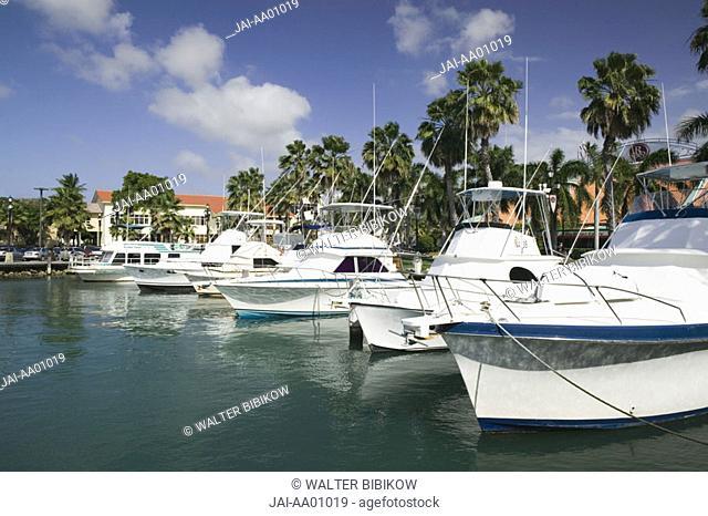 Yacht Basin, Oranjestad, Aruba, Caribbean