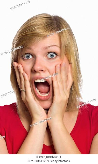 Scream terror fear Stock Photos and Images | age fotostock