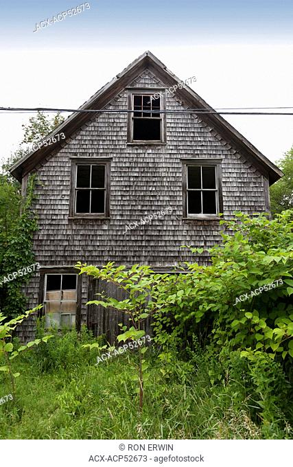 An old abandoned house in New Brunswick