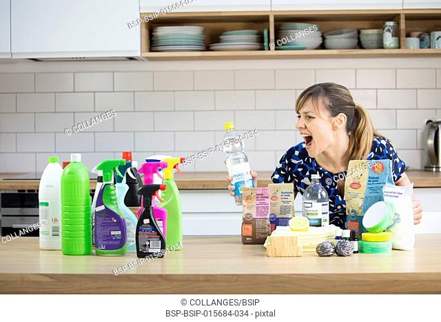 Conventional and eco cleaning products