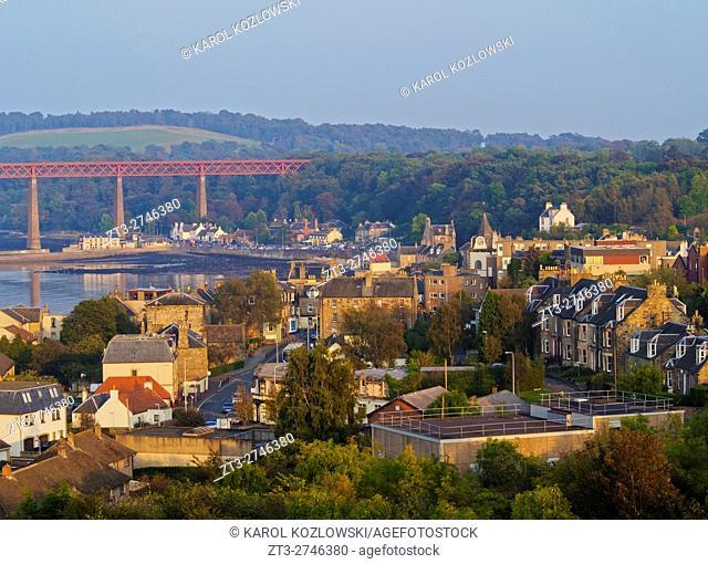 UK, Scotland, Lothian, Edinburgh Area, View of the Queensferry.