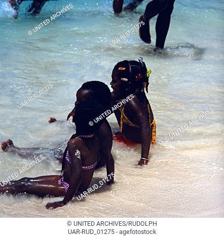 Eine Reise nach Montego Bay, Jamaika, 1980er Jahre. A trip to Montego Bay, Jamaica, 1980s