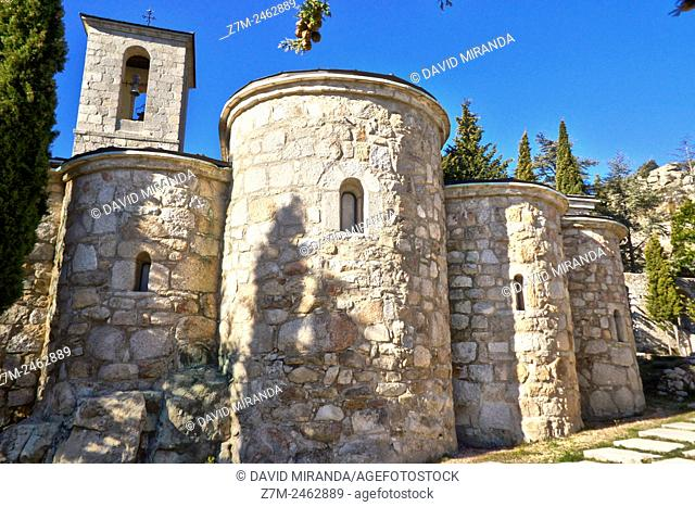 Convento de San Antonio, La Cabrera. Sierra de Madrid. Madrid Community, Spain
