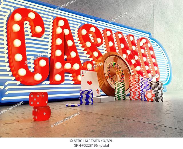Casino, illustration