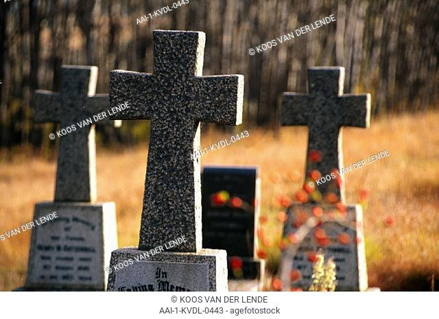 Tomb stones, Eastern Cape, South Africa