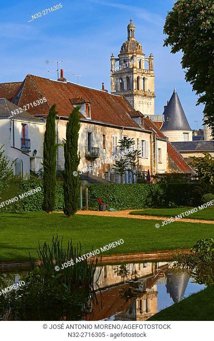 Loches, San Anthony Tower, Indre-et-Loire, Touraine, Pays de la Loire, Loire Valley, UNESCO World Heritage Site, France
