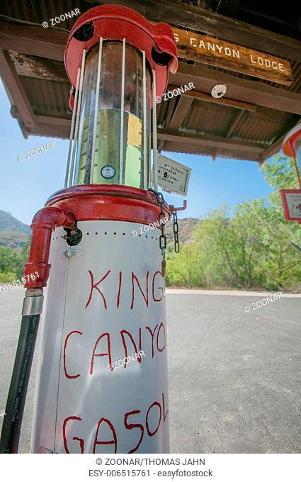 Kings canyon lodge gasoline