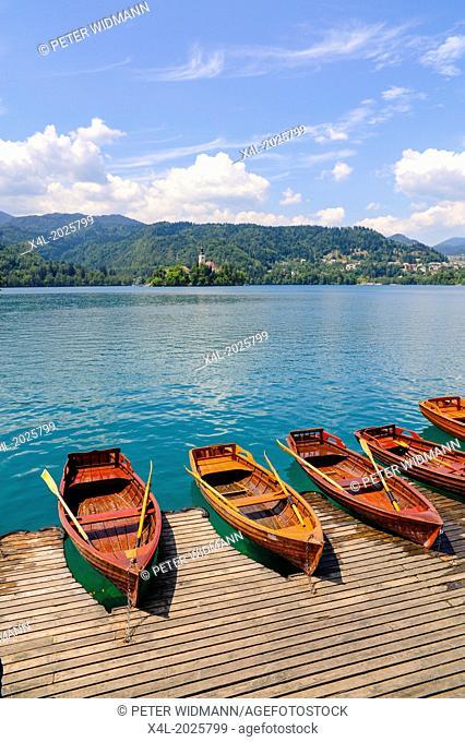Triglav, Bled, lake, Slovenia, Northern Slovenia