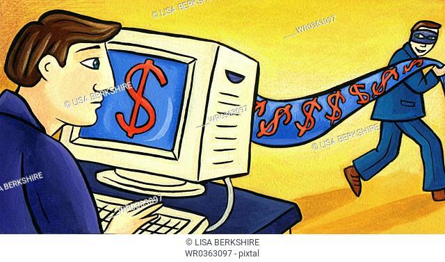 Online Banking Thief