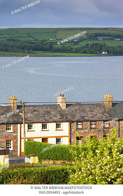 Ireland, County Kerry, Dingle Peninsula, Dingle Town, colorful town buildings