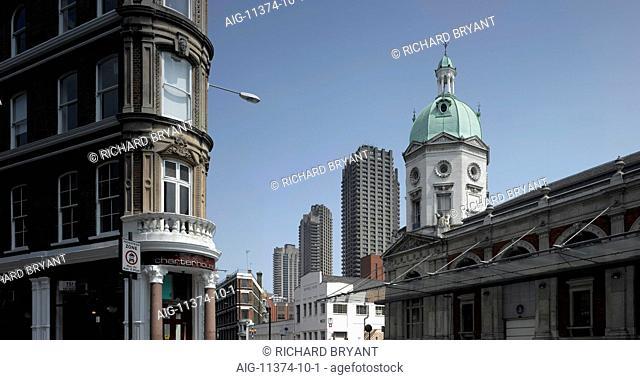 Smithfield Market and Barbican, Smithfield, London