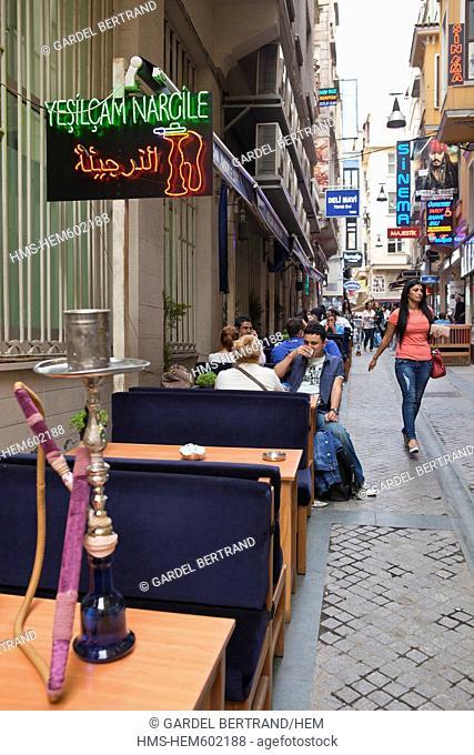Turkey, Istanbul, Taksim district, Demirren Stiklal shopping center opened on march 17th 2011 Street Istiklal Caddesi