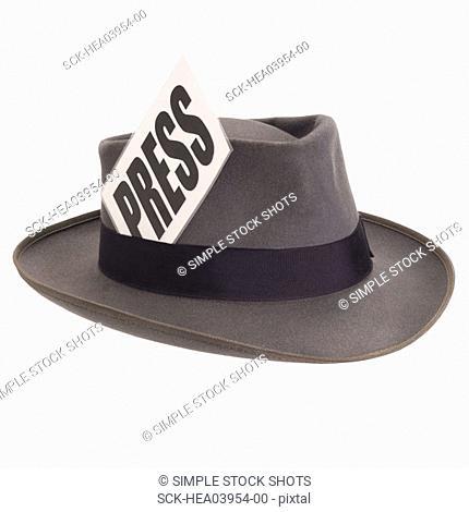 reporters hat